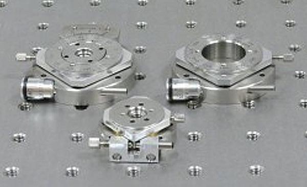 手動ステージ  Elliot Scientific 小型ロータリーステージ(デモ機あり)