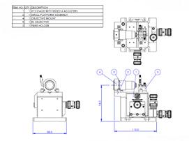 シングルモードファイバー用アライメントシステム