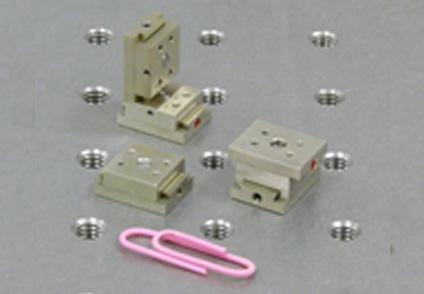 超小型マイクロポジショナーステージ(デモ機あり)