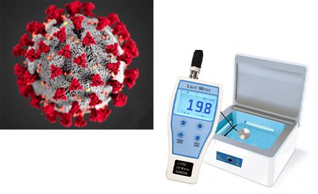 紫外線消毒装置管理・開発用の照度測定システム