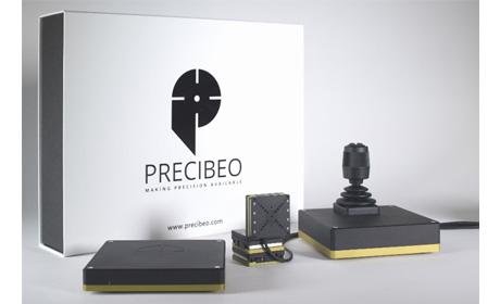 自動ステージ PRECIBEO エンコーダー内蔵ピエゾモーターステージ